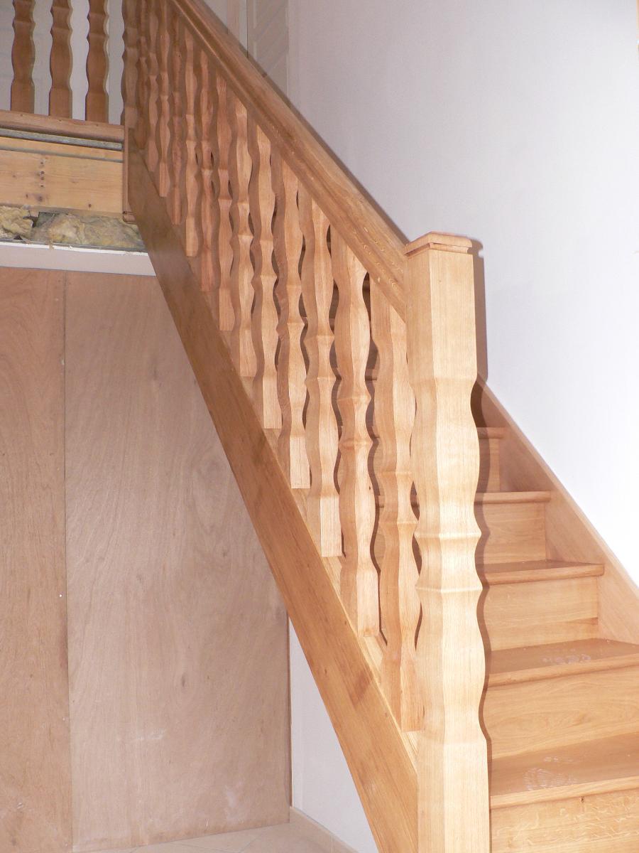 Escalier, fabrication et pose par AMC Distribution en Eure-et-Loire (28)