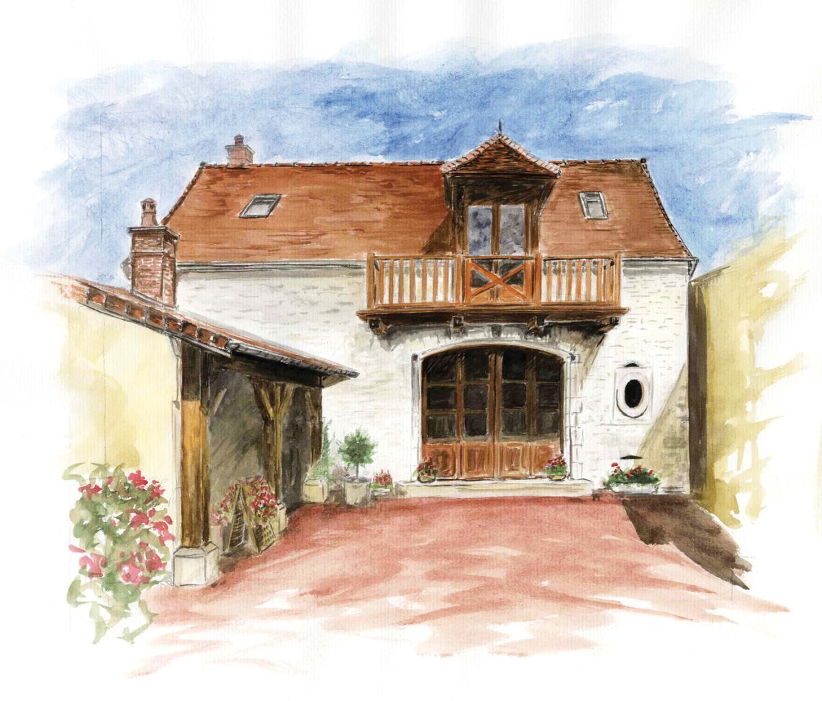 Champagne Albans d'Aulbe à Buxeuil - Vins