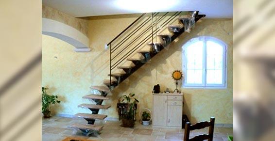 Midi Métal - Ferronnerie d'art - escalier