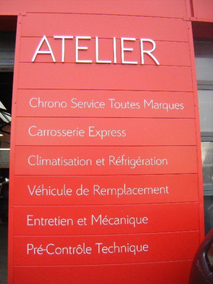 garage automobile marne