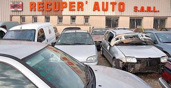 RECUPER' AUTO à Ussac, un grand choix de pièces auto d'occasion.