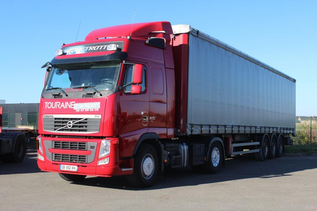 Touraine Transport. Transport routier en France et Benelux