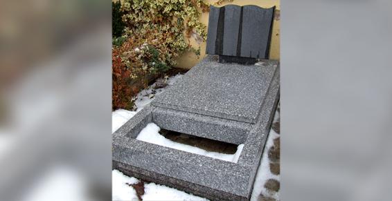 Monuments, articles funéraires, fabrication - Rénovation de tombe