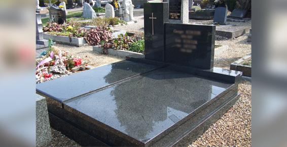 Monuments, articles funéraires, fabrication - Gravure or ou peinture
