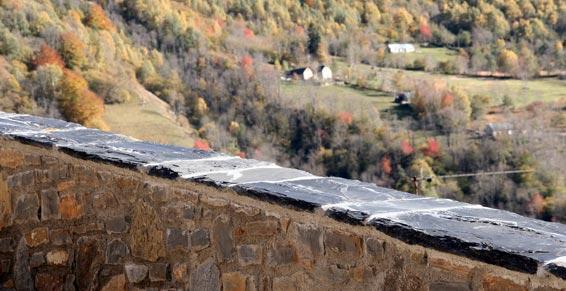 bâtiment - Mur aval et extension