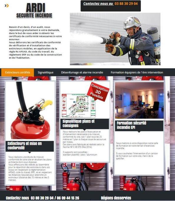 extincteurs Ardi securite incendie