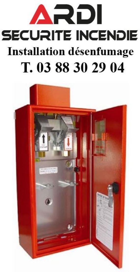 desenfumage installation maintenance ardi securite incendie 67 alsace