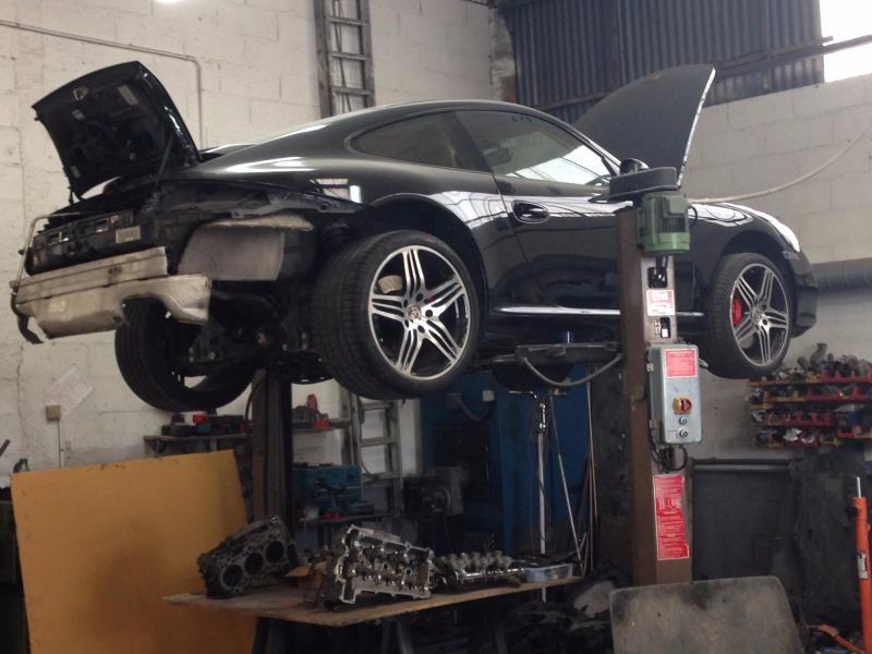 Réparation et entretien Porsche 911