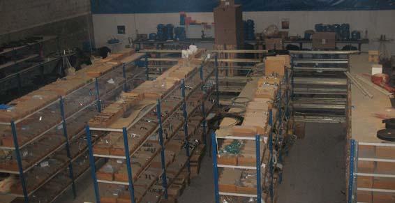 matériel hydraulique - Stockage