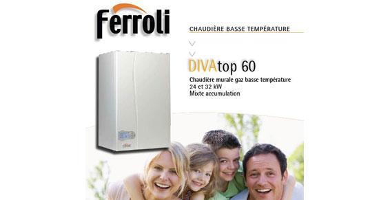 Chaudière murale gaz basse température - DIVAtop 60