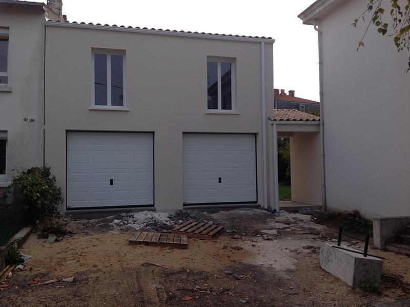 creation appartement avec garage double la rochelle