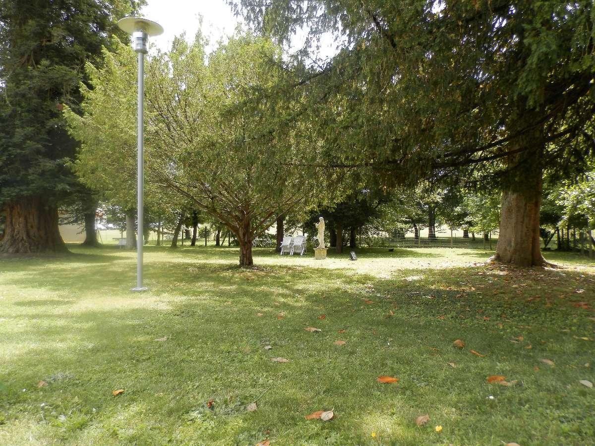 Le parc du Foyer de Retraite du Combattant