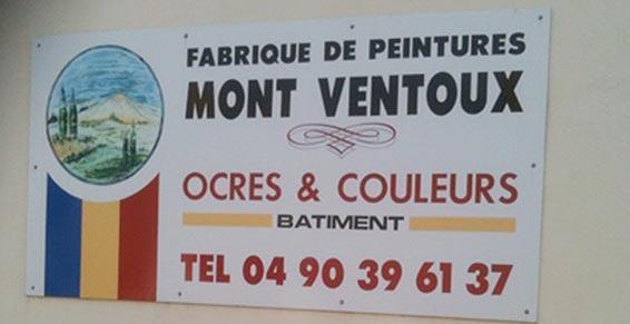 Peintures Mont-Ventoux vente de Peintures