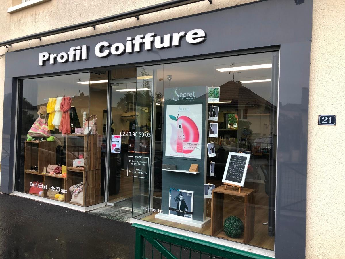 Le salon de coiffure Profil Coiffure à Bonchamp-lès-Laval ...