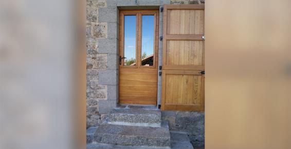 Portes, portails - Thiézac près d'Aurillac (15)
