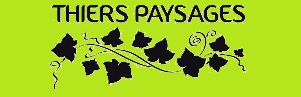 Thiers Paysages situé à Thiers (63)  - Logo
