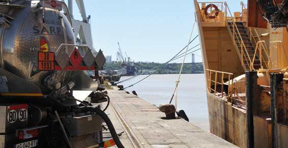 Vidange de cuves de bateau à Bordeaux avec RABA