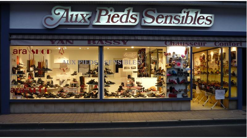 Chaussures Aux Pieds Sensibles Pau. Chaussures pour pieds exigeants.
