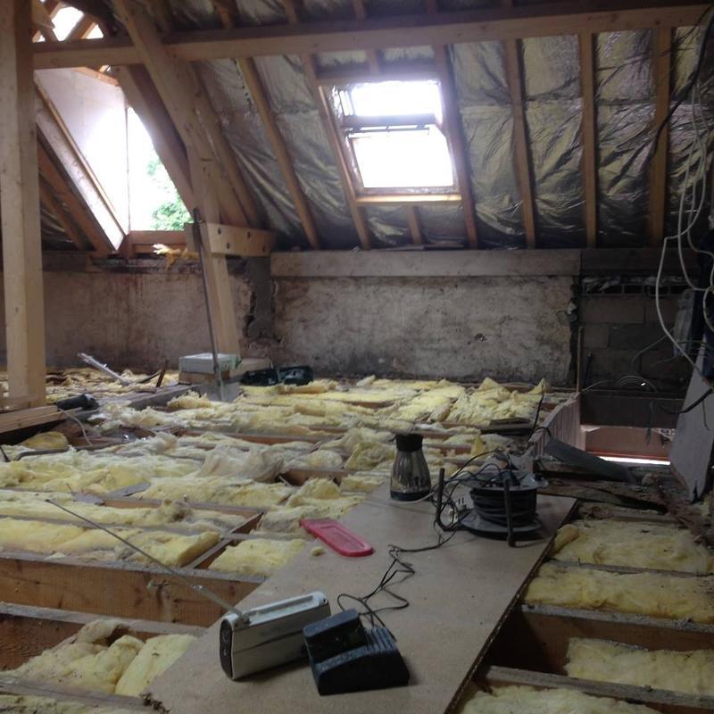 Aménagement de combles, rénovation immobilière près de Pontoise