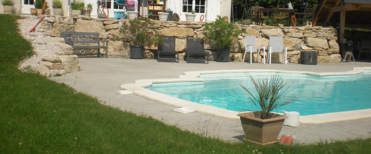 Aménagement tour piscine