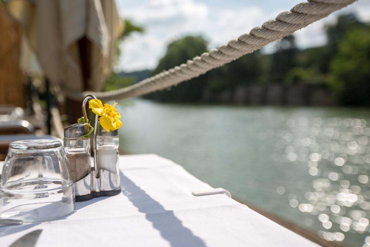En bord de Saône