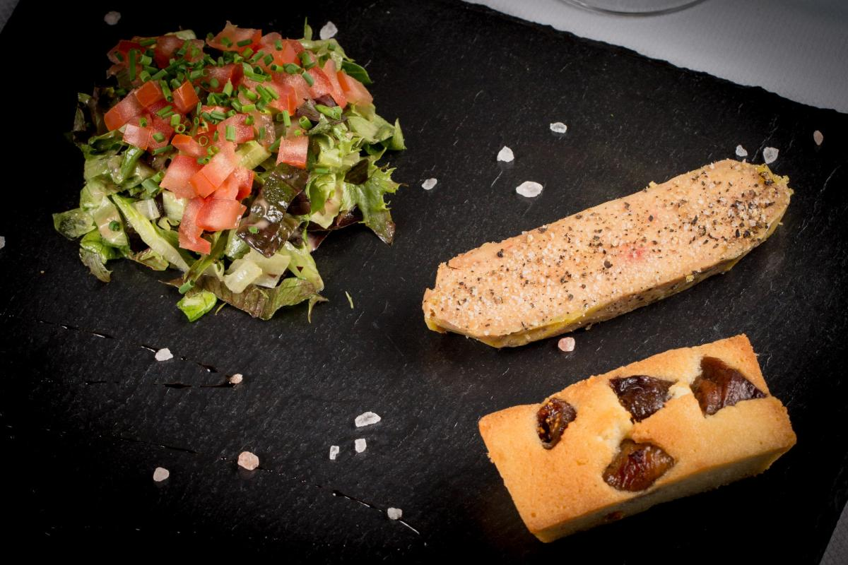 Foie gras maison & son financier