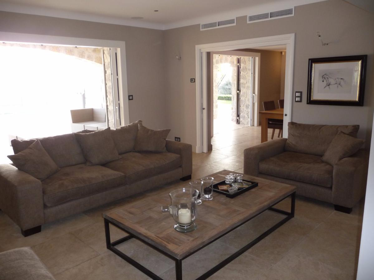 Salon villa individuelle