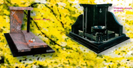 Est Granit à Saint Avold - Marbriers funéraires