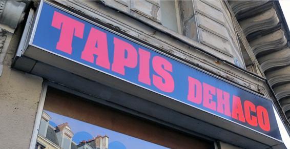 Dehaco, vente de tapis dans le 10ème à Paris