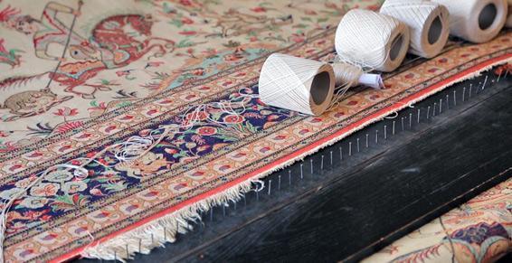 Restauration de tapis dans le 10ème arrondissement de Paris (75)
