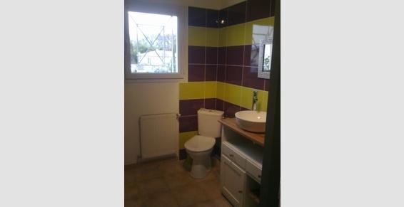 Ste Le Bras (33) Salle de bain après travaux