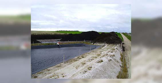 Agricompost 10 - Récupération déchets - Stockage de déchets naturels