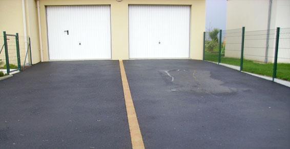 enrobé pour accès garage