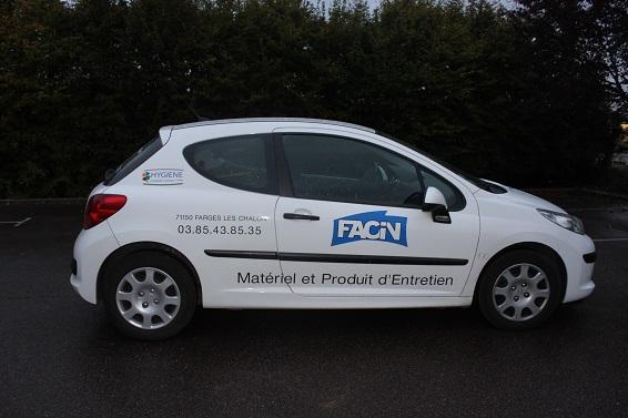 L'entreprise Facin située à Farges-lès-Chalon en Saône-et-Loire (71) - Produits d'entretien et d'hygiène