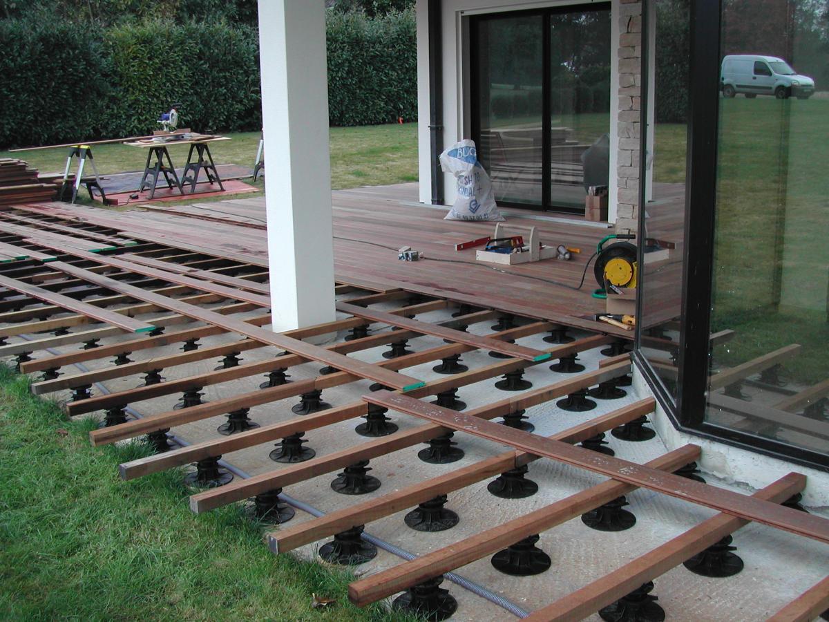 Terrasse en construction dans les Yvelines (78)