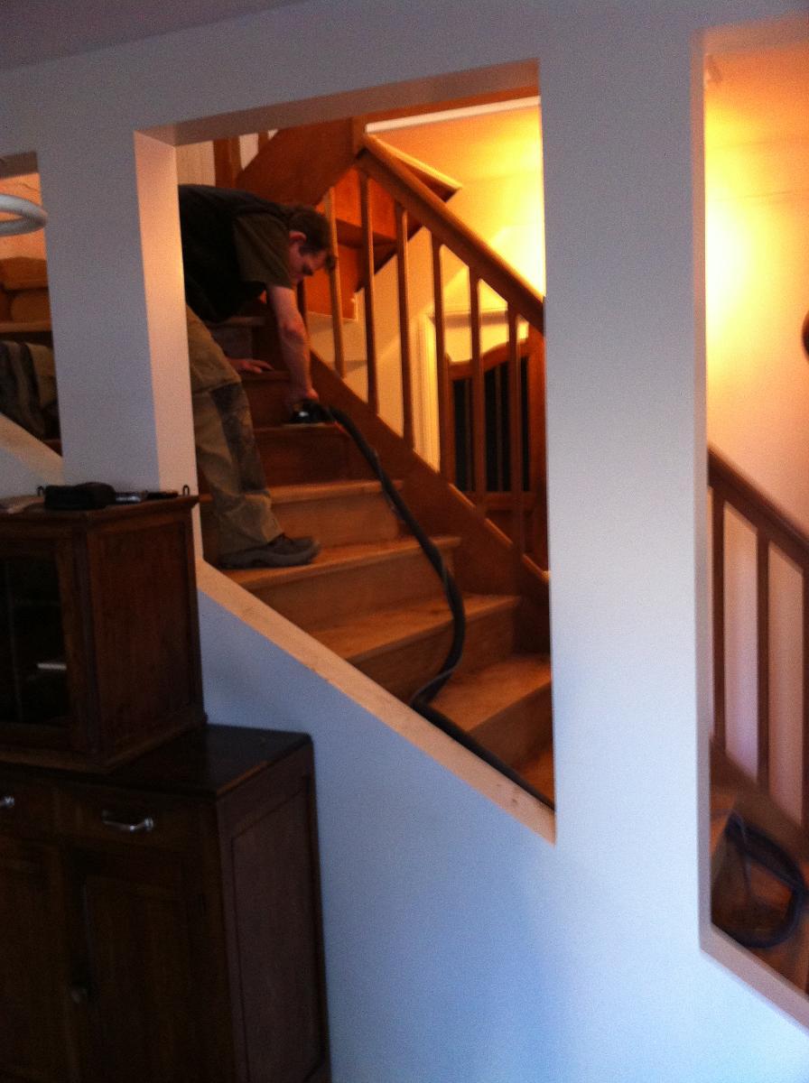 BJM, conception d'escalier à Versailles (78)