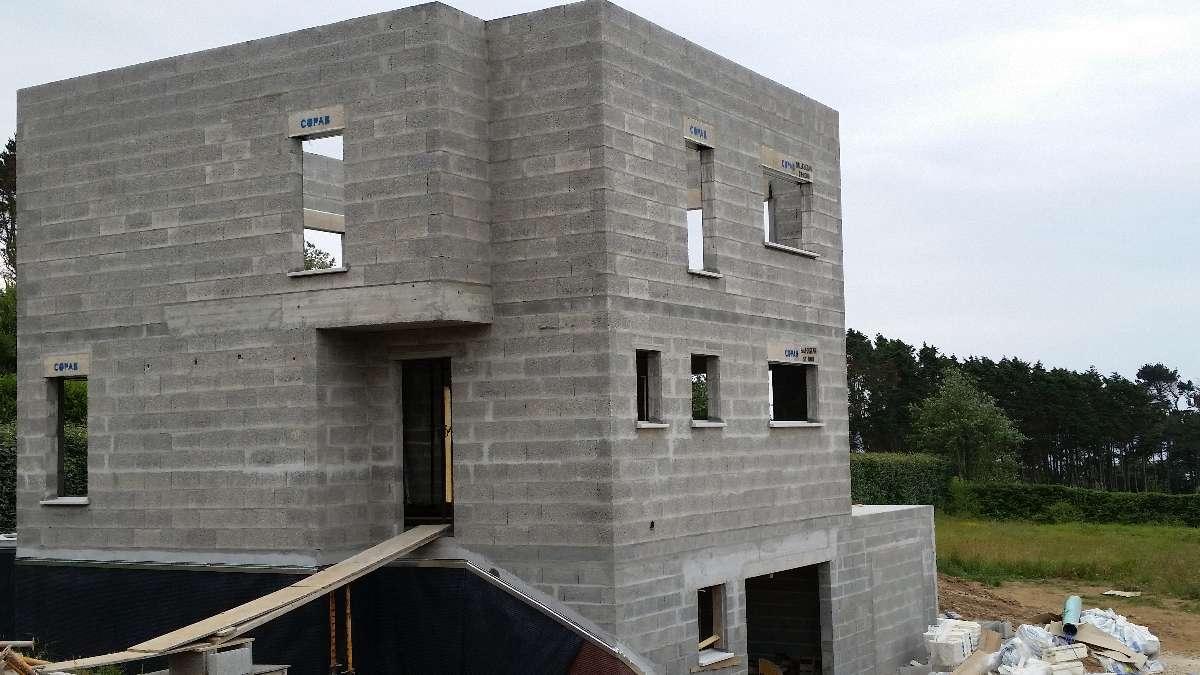 maison en bloc ponce - MFDS Constructions